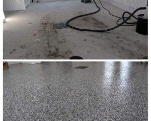 Revêtement de plancher de sous-sol
